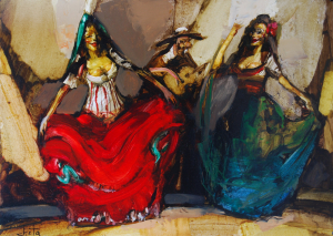 Spanish Dance, 2014