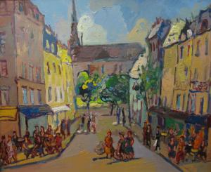 Street Scene, 2003