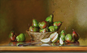 Still-life with Pears, 2017