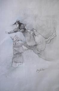 Flying acrobat, 2003