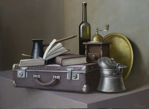 Still-Life With Old Suitcase, 2017