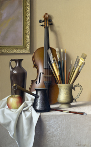 Still-life with Violin, 2016