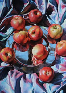 Still life with apples, 2020