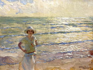Happy Day at the Beach, 1920