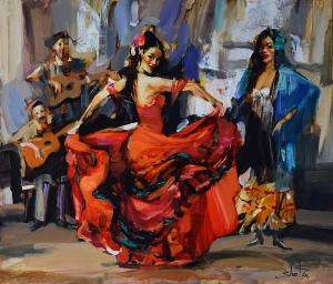 Passionate dancer, 2021