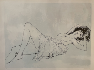 Reclining nude, 1995