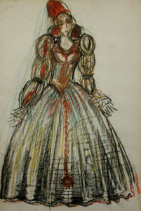 Dress Design For The Performance Hamlet