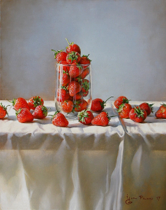 Still-life with Strawberries, 2017