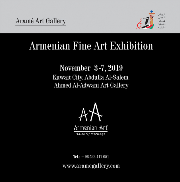 ''Symphony of Colours'' Armenian Art Exhibition, 2019